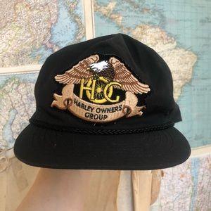 Vintage Harley Davidson Owners Group hat